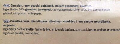 Garnelen In Tempurateig - Ingrediënten