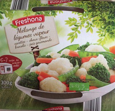 Mélange de legumes vapeur - Produit - fr