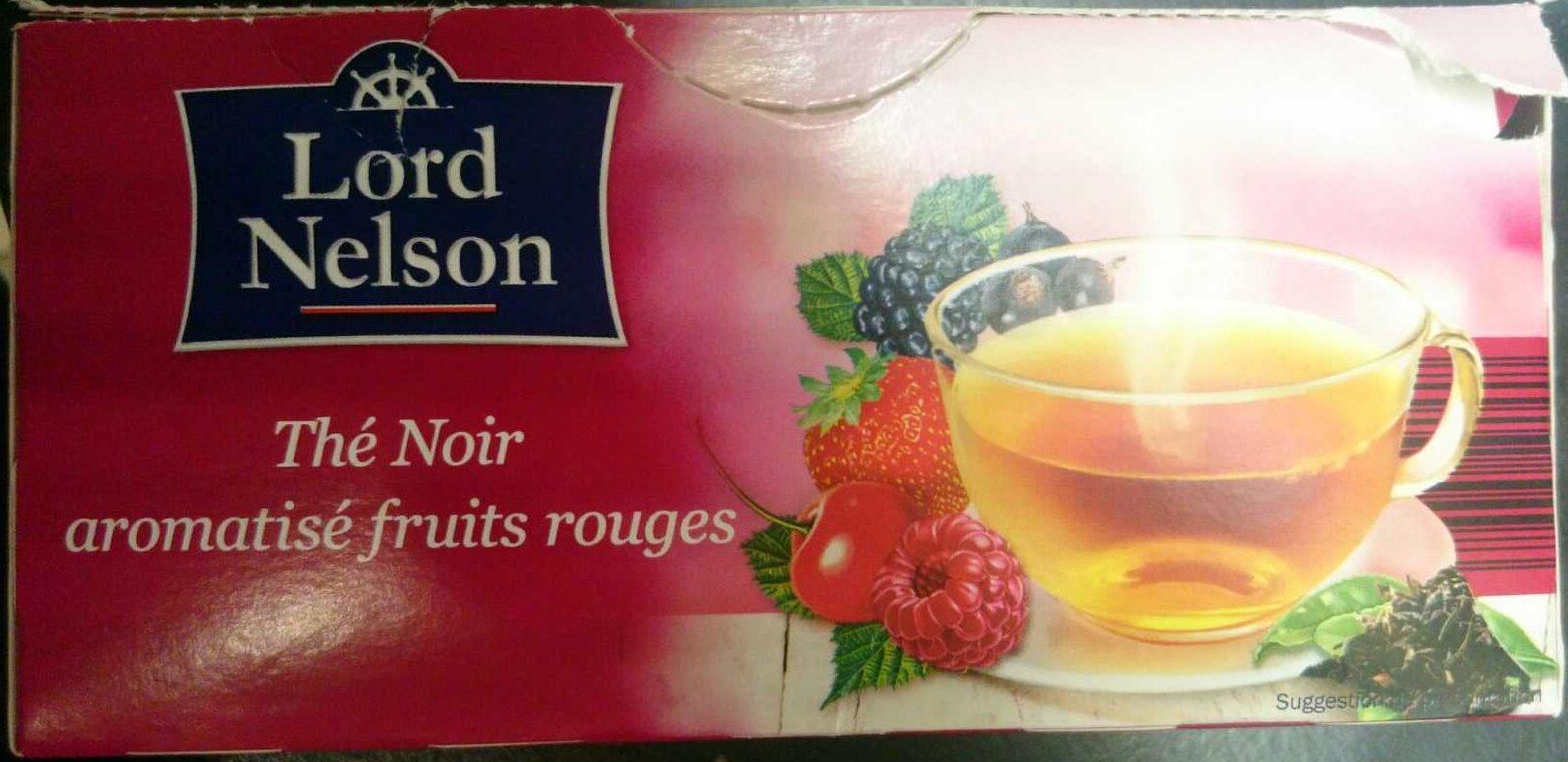 Thé Noir Aromatisé Fruits Rouges Lord Nelson 42 5 G 25 1 7 G