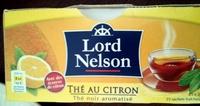 Thé au citron - Produit