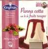 Panna cotta sur lit de fruits rouges - Product