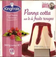 Panna cotta Frutas del Bosque - Product - fr