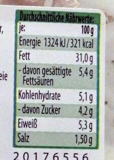 feinster Fleischsalat mit Kräutern - Informations nutritionnelles - de
