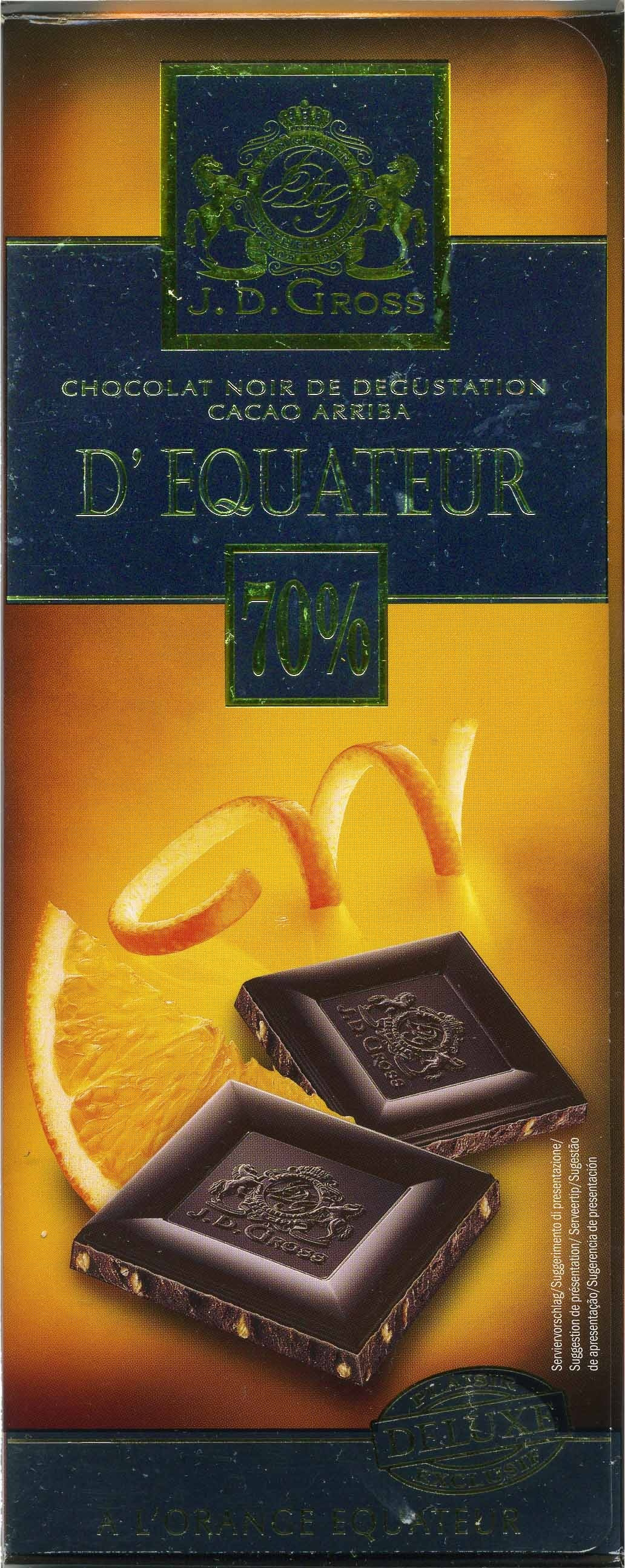 Dark chocolate - Producte