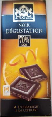 Noir dégustation à l'Orange équateur - Product - fr