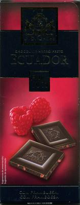 Chocolat dégustation à la framboise cacao Equateur 70% - Product