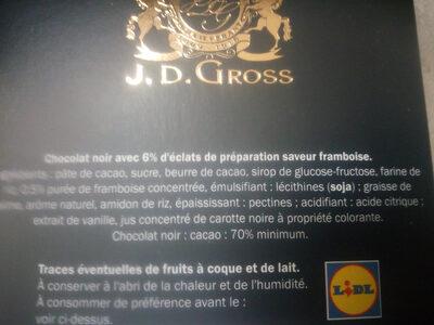 Éclats de framboise - Ingredients - fr