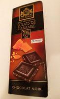 Éclats de caramel 70% cacao - Chocolat noir - Product - fr