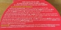 Buddha Bol crevettes marinées - Ingrédients - fr