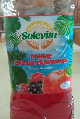 Boisson Pomme Cassis Framboise - Product