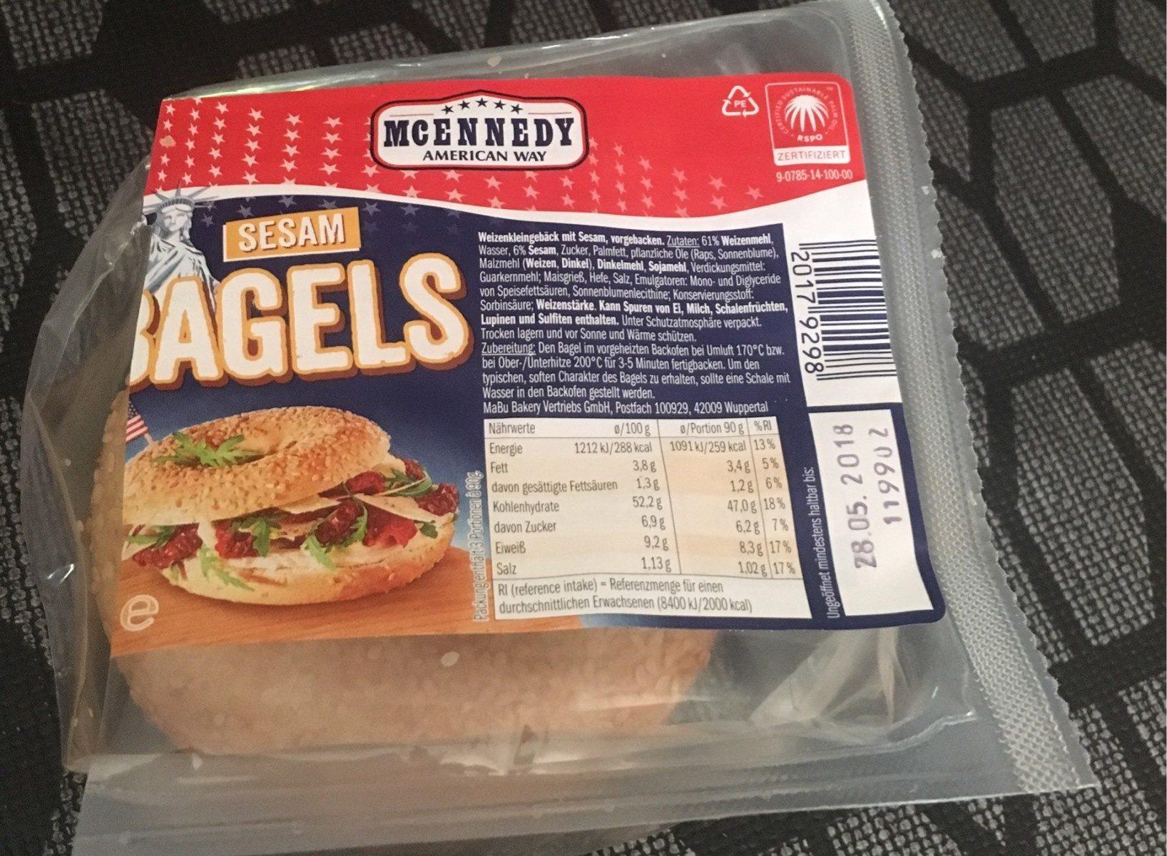 Bagels Sesam - Produit