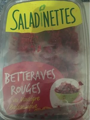 Betteraves rouges - Produit