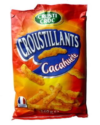 Croustillants Cacahuète - Informations nutritionnelles