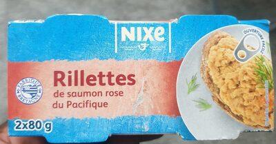 Rillettes de saumon rose du Pacifique, aromatisées - Prodotto - fr