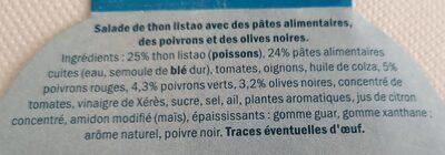 Salade Catalane au thon - Ingredients