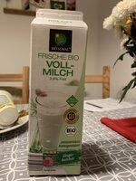Frische Bio Vollmilch - Product - de