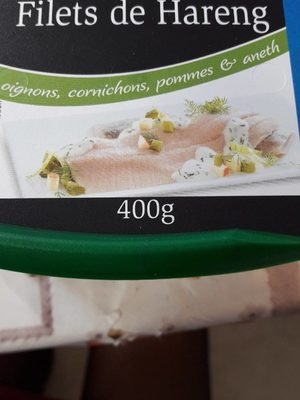 filets de hareng à la crème - Product - fr