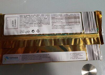 Turrón de chocolate - Producto - es