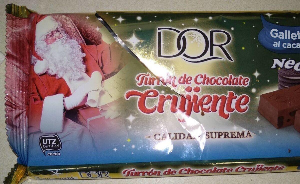 Turrón chocolate crujiente - Producto - es