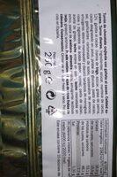 Turrón chocolate crujiente - Información nutricional - es