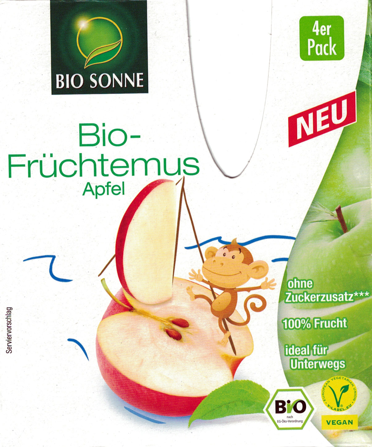 Bio-Früchtemus Apfel - Produit - de