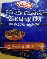 Pieczeń z mielonego mięsa wieprzowo - drobiowowego z kminkiem - Produkt