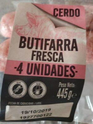 Butifarra fresca de cerdo - Producte
