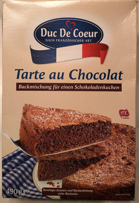 Tarte au Chocolat, Schokolade - Product - de