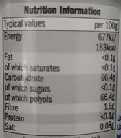 White strong - Informations nutritionnelles - fr