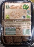 Croquetas de champiñón y tofu - Product - es