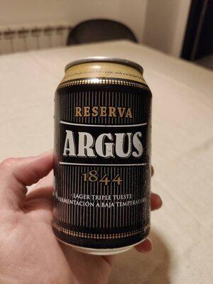Cerveza reserva argus 1844