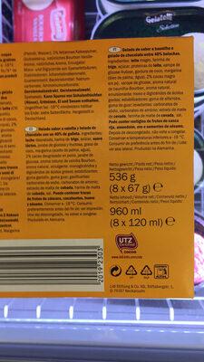 Ice Cream Sandwich cocoa & vanilla - Product - fr