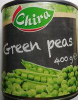 Groszek zielony pasteryzowany - Produkt