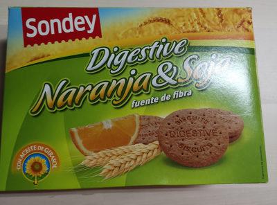 Digestive Naranja & Soja - Producto - es