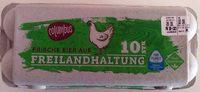 Frische Eier aus Freilandhaltung - Product