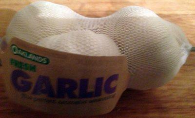 White garlic - Produkt