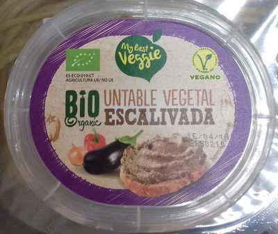 Untable vegetal escalivada - Producte