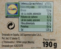 Untable vegetal escalivada - Instruccions de reciclatge i/o informació d'embalatge - es
