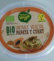 Untable vegetal papaya y curry - Product - es