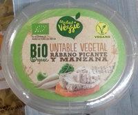 Untable vegetal rábano picante y manzana - Product - es