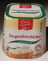 Ziegenfrischkäse Schnittlauch - Product - en