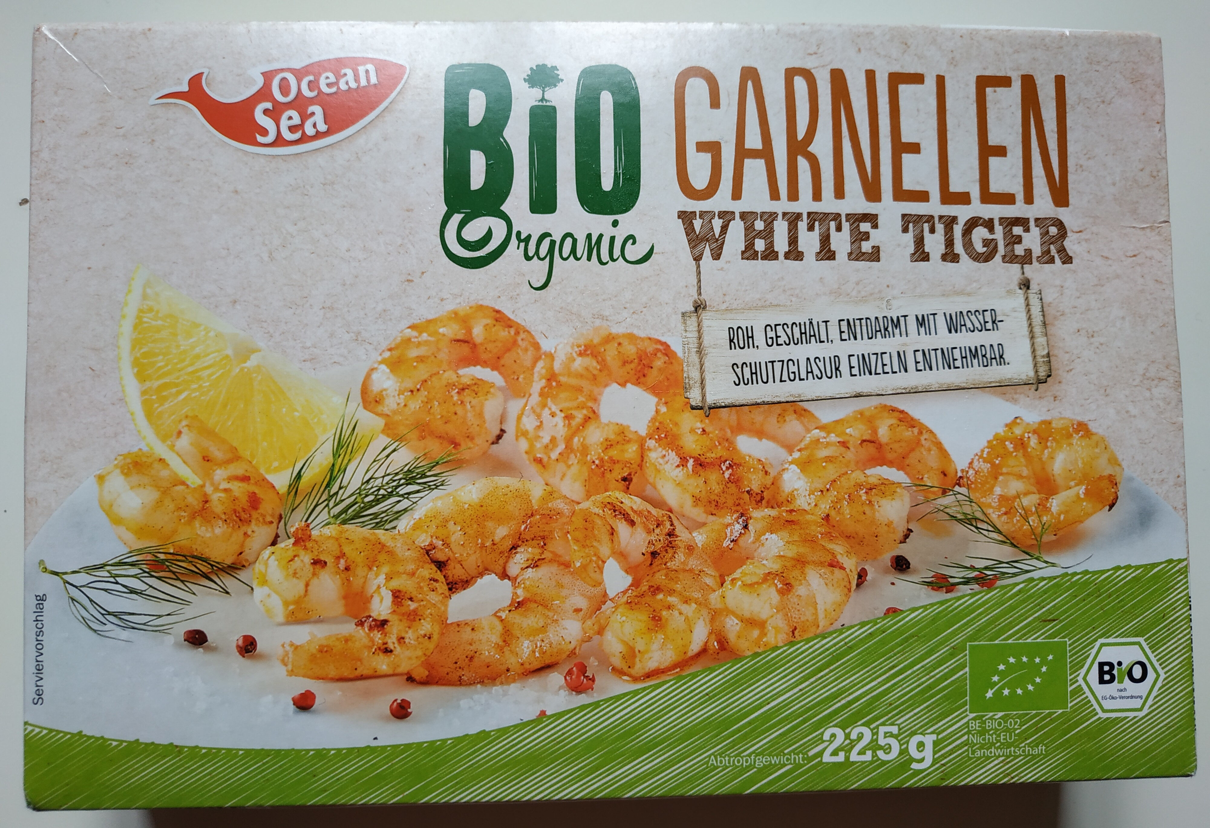 Bio krevety tygří - Produit - fr