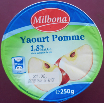 Yaourt Pomme - Product