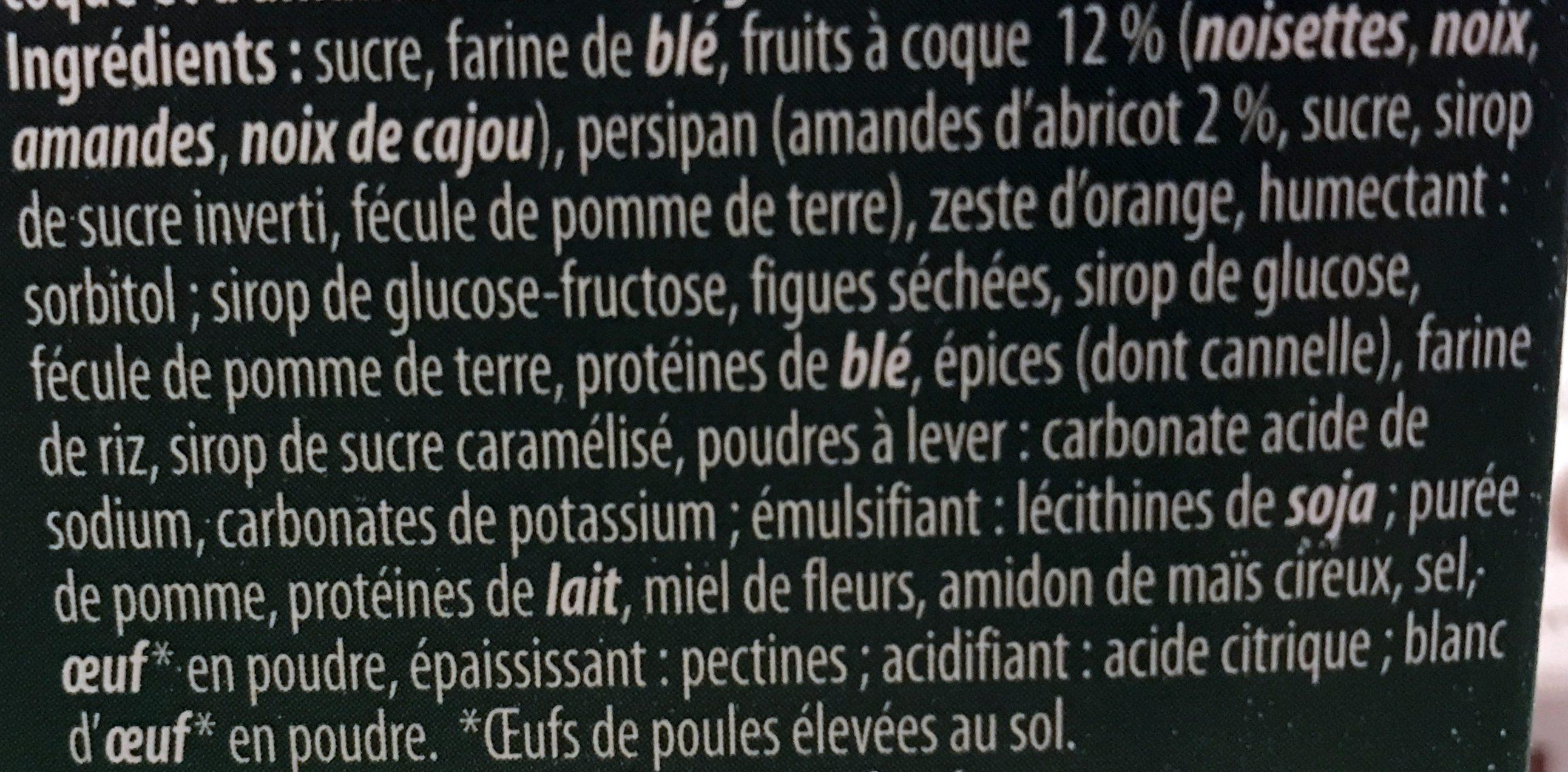 Pain d'épices de Nuremberg sur Oublies - Ingrédients
