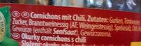 Cornichons   Gurken Chili  gemüse - Ingrédients - de