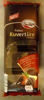 Feine Kuvertüre Zartbitter - Product
