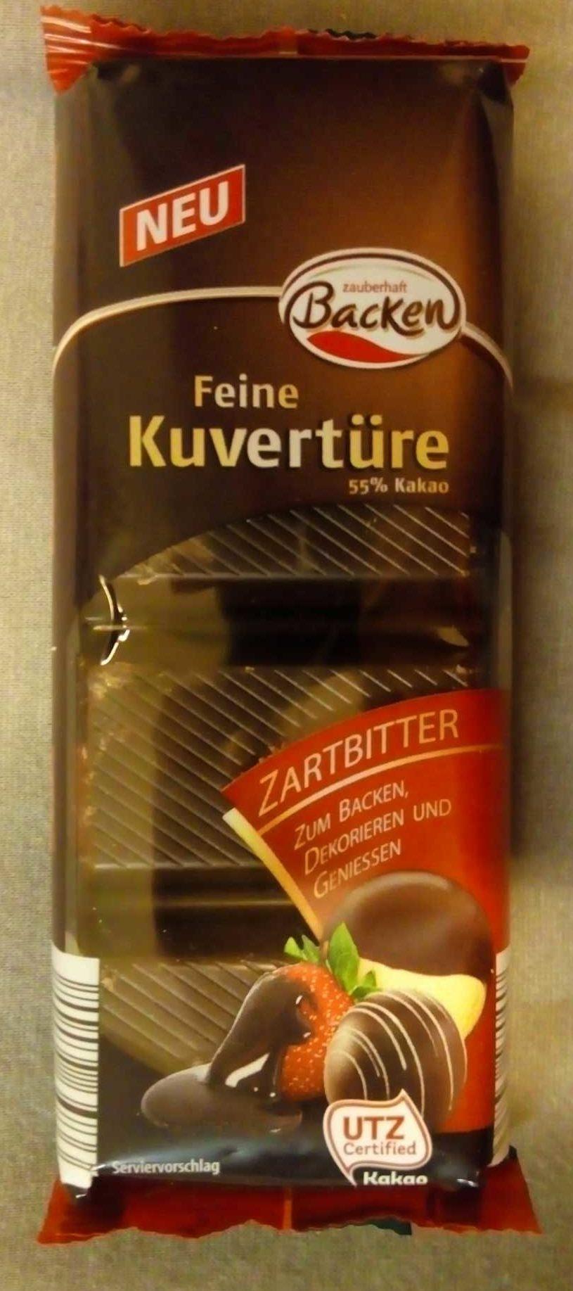 Feine Kuvertüre Zartbitter - Produit