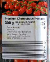 Premium Cherrystrauchtomaten - Produkt