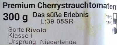 Premium Cherrystrauchtomaten - Ingredients