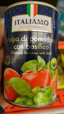 Gehackte Tomaten Mit Basilikum - Producto